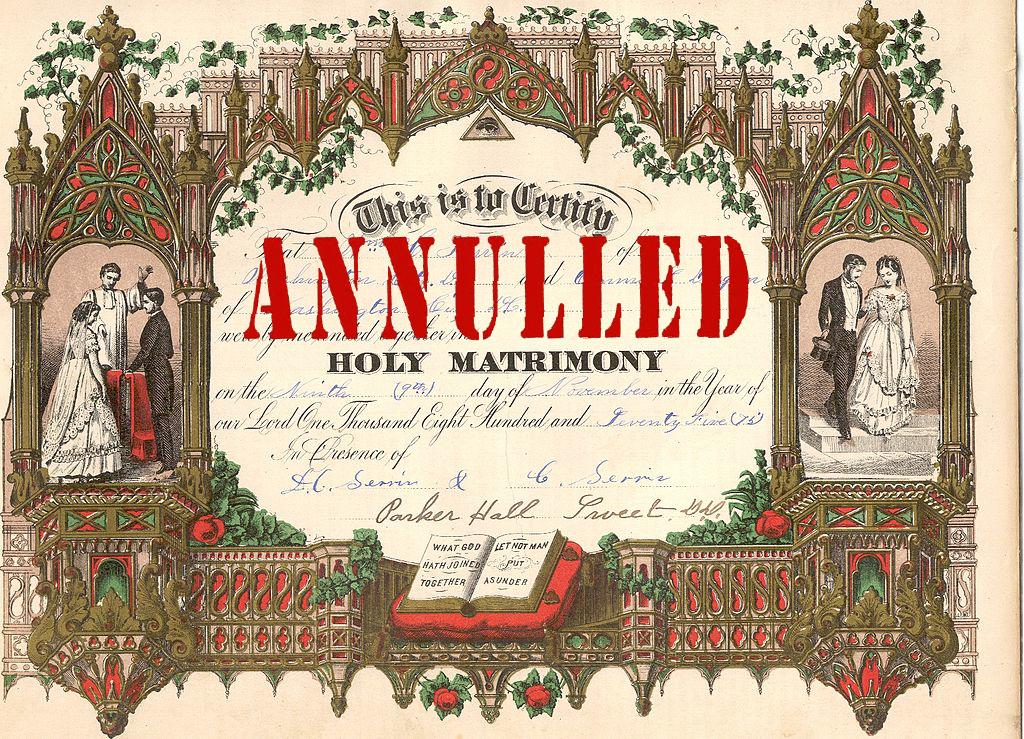 Annulments & the Catholic Church